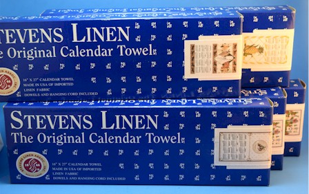 Previous Years Calendar Towels