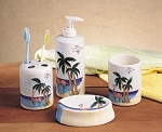 16680 Flamingo Bathroom Accessories 4 pc. Set