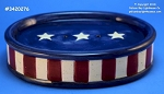 20276 Olde Glory Soap Dish, Ceramic