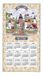 2022 Calendar Towel, Maine Lighthouses, 17