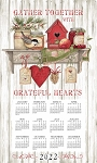 2022 Calendar Towel, Kitchen Sentiments, 17