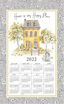 2022 Calendar Towel, Sweet Home, 17