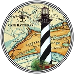 HL25 Coasterstone Coasters Cape Hatteras NC Set of 4