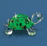 Turtle Figurine by Glass Baron, SO 254
