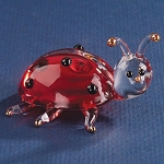 Glass Ladybug Figurine by Glass Baron, #S2 333