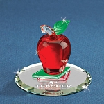 A+ Teacher Glass Figurine by Glass Baron, #S2 478-A