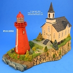 HL255 Harbour Lights Ltd. Ed. Lighthouse, La Matre, Quebec, Canada