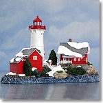 HL714 Harbour Lights Limited Edition, Crossover Island, NY.  2002 Christmas Edition.
