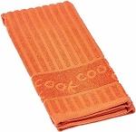 Kay Dee Designs Cook Jacquard Cotton Terry Towel, Orange