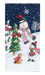 Let It Snow Dual Purpose Terry Towel, #H3640