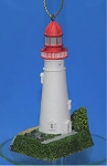 Lefton Lighthouse Ornament, Marblehead, Ohio, #CCM12838