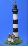 Lefton Lighthouse Ornament, Bodie Island, North Carolina, #CCM12872