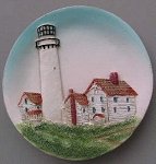 Circular Magnet, Fenwick Island Lighthouse, Delaware