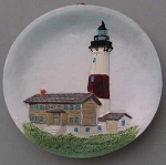 Circular Magnet, Montauk Point Lighthouse, New York