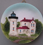 Circular Magnet, Admiralty Head Lighthouse, Washington