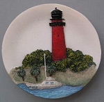 Circular Magnet, Jupiter Inlet Lighthouse, Florida
