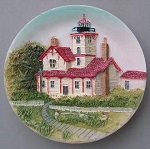 Circular Magnet, Hereford Inlet Lighthouse, New Jersey