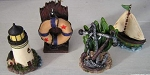 Nautical Figurines Set of 4 Asstd. #21102