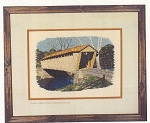 Cross Stitch Chart Switzer Covered Bridge