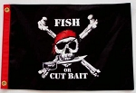 Pirate Flag,  Fish Or Cut Bait,  12