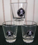 Jolly Roger Logo Pirate Shotglass