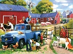 Spring Farm Days Jigsaw Puzzle, 1000 pc., by SunsOut Puzzles, #13718