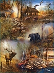 Forest Collage Jigsaw Puzzle, 1000 pc., by SunsOut Puzzles, #54672