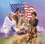 The Armed Forces Jigsaw Puzzle, 500 pc., by SunsOut Puzzles, #67112