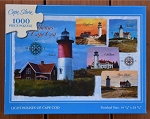 Lighthouses of Cape Cod Jigsaw Puzzle, 1000 pc.
