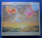 Sparkle Fairies Jigsaw Puzzle, 100 pc., #17012