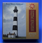Bodie Island Lighthouse Jigsaw Puzzle by Heritage Puzzle, 80 pc., #10803