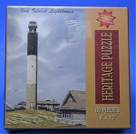 Oak Island Lighthouse Jigsaw Puzzle by Heritage Puzzle, 80 pc., #10806