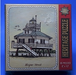 Hooper Strait Lighthouse Jigsaw Puzzle by Heritage Puzzle, 80 pc., #10810