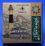 Absecon Inlet Light, Atlantic City Jigsaw Puzzle by Heritage Puzzle, 80 pc., #10824