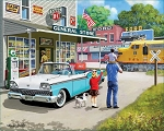 American Classic Jigsaw Puzzle, 1000 pc., by White Mountain Puzzles, #1352