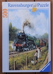 Watching The Trains  Jigsaw Puzzle, 500 pc., #14284