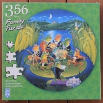 Unfinished Symphony Family Jigsaw Puzzle, 356 pc., by F X Schmid