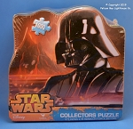 #18407 Star Wars Darth Vader Collectible Puzzle, 1000 Piece, With Tin Box