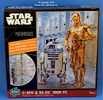 #10606 Star Wars C3PO & R2-D2 Photomosaic Puzzle, 1000 Piece