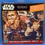 #10614 Star Wars Han Solo & Chewbacca Photomosaic Puzzle, 1000 Piece