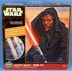 #10617 Star Wars Darth Maul Photomosaic Puzzle, 1000 Piece