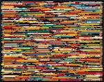 Pencil Collage Jigsaw Puzzle, 1000 pc., by White Mountain Puzzles, #730PZ
