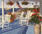Lighthouse Point Jigsaw Puzzle, 1000 pc., by White Mountain Puzzles, #1285PZ