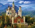 Neuschwanstein Castle Jigsaw Puzzle, 1000 pc., by White Mountain Puzzles, #1335PZ
