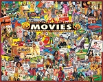 The Movies Jigsaw Puzzle, 1000 pc., by White Mountain Puzzles, #1338PZ