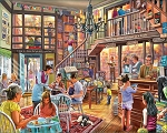 Local Bookstore Jigsaw Puzzle, 1000 pc., by White Mountain Puzzles, #1386PZ