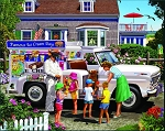 Ice Cream Truck Jigsaw Puzzle, 1000 pc., by White Mountain Puzzles, #1406PZ