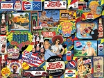 Vintage Pepsi Jigsaw Puzzle, 1000 pc., by White Mountain Puzzles, #1436PZ