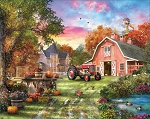 Farm Life Jigsaw Puzzle, 1000 pc., by White Mountain Puzzles, #1479PZ