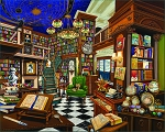Rare Book Store Jigsaw Puzzle, 1000 pc., by White Mountain Puzzles, #1526PZ